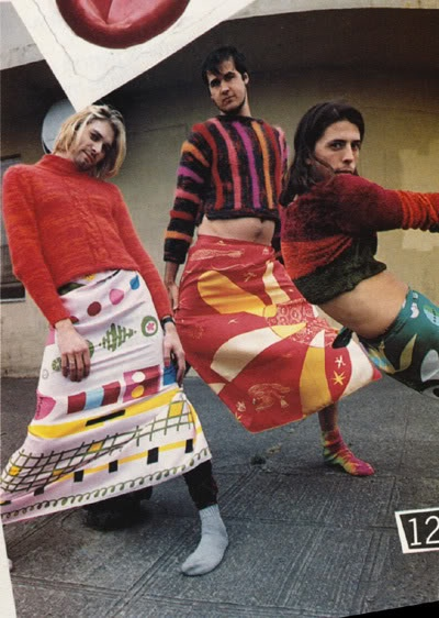 NIRVANA IN DRIES VAN NOTEN | MADEMOISELLE MAGAZINE | NOVEMBER 1993