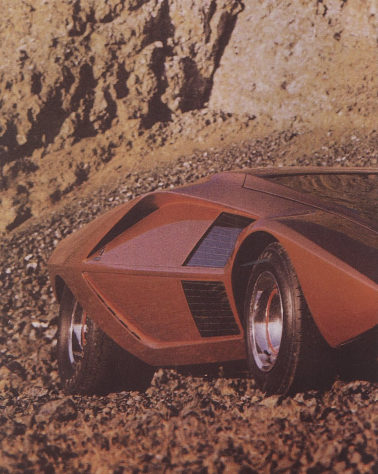 OBJECT N°3 LANCIA STRATOS/ZERO 1970 MIRAGE N°2