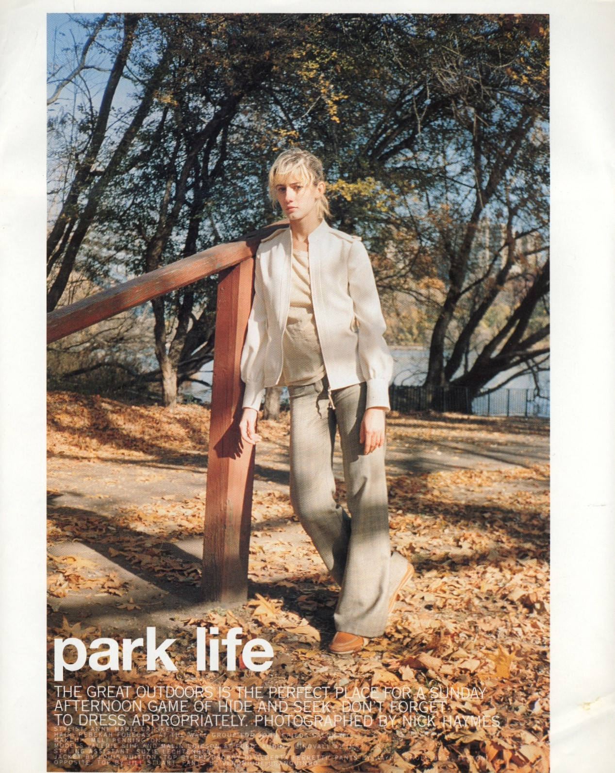 PARK LIFE | PHOTOGRAPHY NICK HAYMES