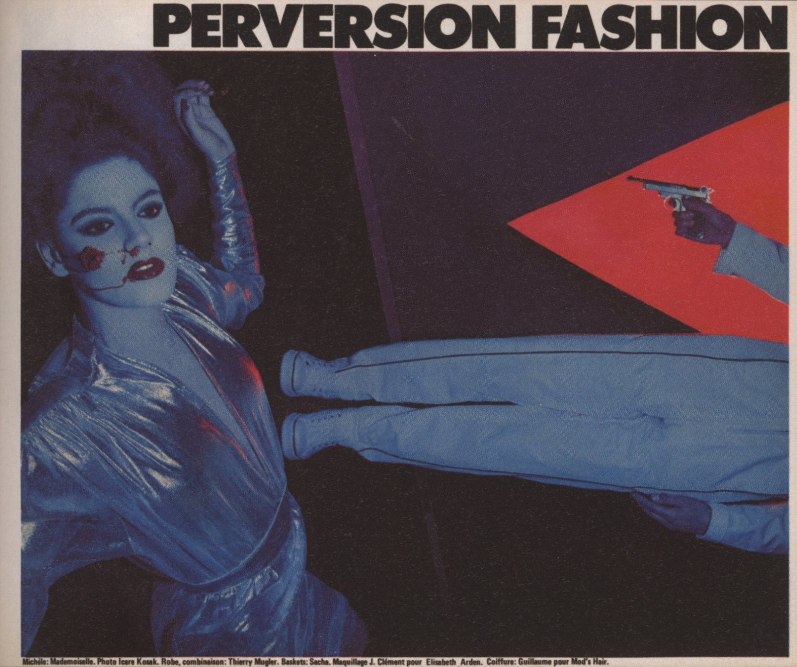 PERVERSION FASHION | PHOTOGRAPHY ICARE KOSAK | FACADE | 1979