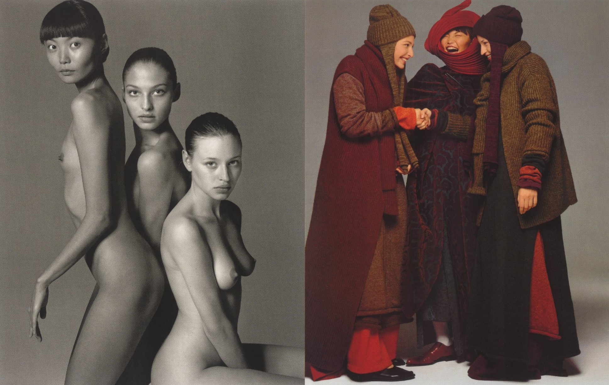 PIRELLI CALENDAR | 1997 | SEPTEMBER | PHOTOGRAPHY RICHARD AVEDON