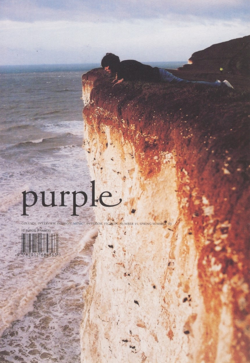 PURPLE SPRING/SUMMER 2003 COVER PHOTOGRAPHY WOLFGANG TILLMANS