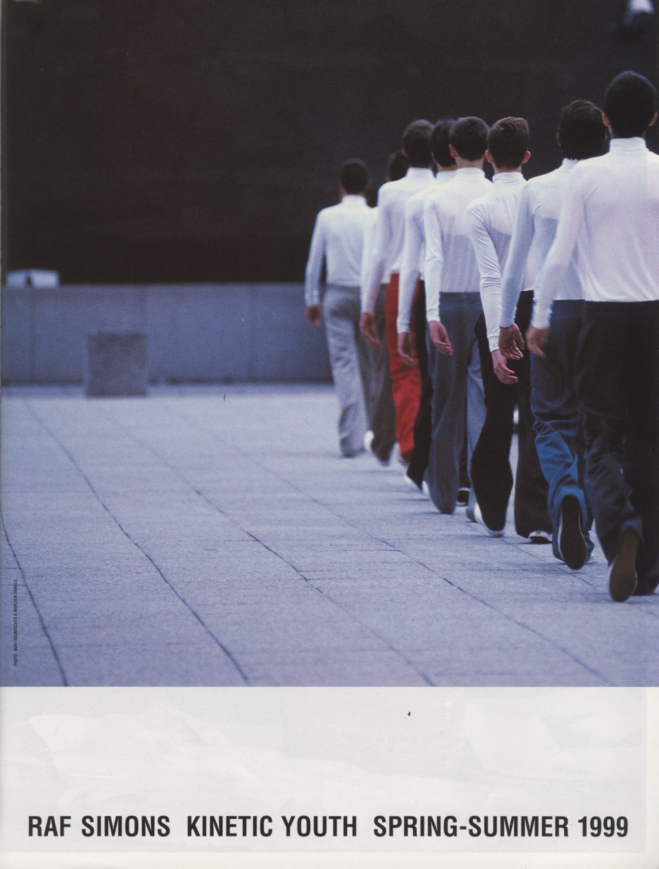 RAF SIMONS | KINETIC YOUTH | SPRING/SUMMER 1999 | PHOTOGRAPHY BERT HOUBRECHTS & MARLEENE DANIELS
