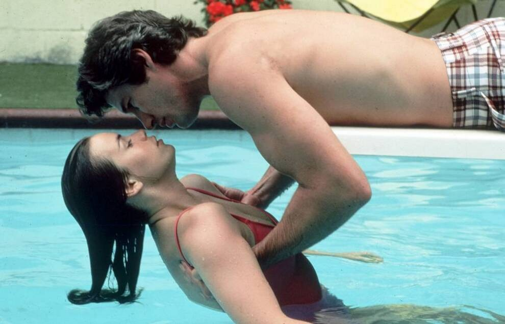 RICHARD GERE AND VALERIE KAPRISKY | BREATHLESS DIRECTED BY JIM MCBRIDE | 1983