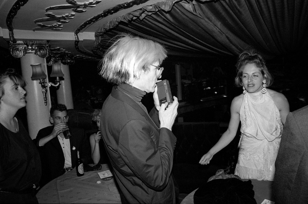 RICHARD YOUNG | ANDY WARHOL AND ISABELLA BLOW | OPENING OF CLUB PARISIENNE | CAFE' DE PARIS | LONDON | 1986