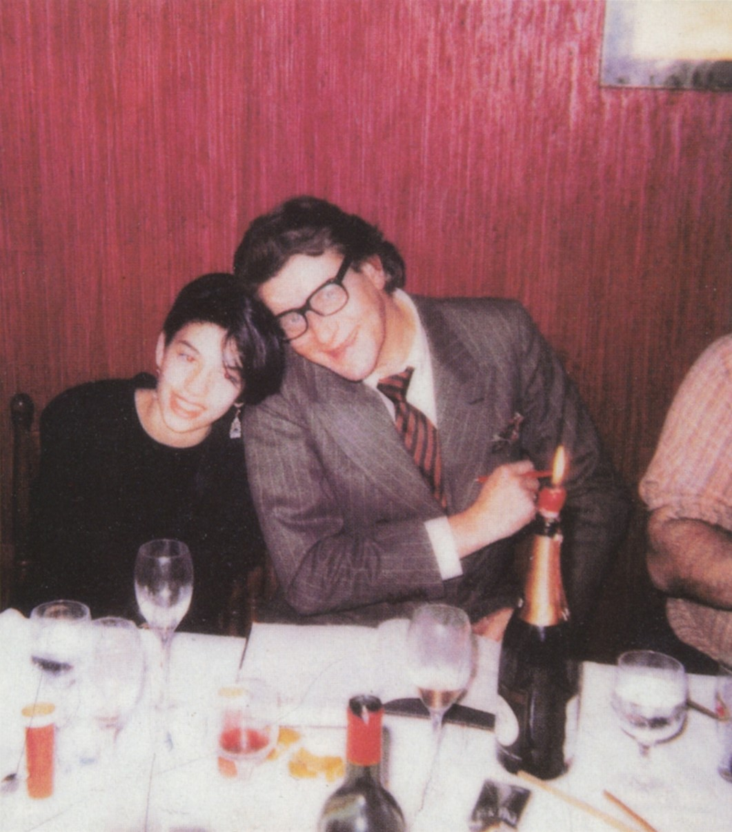 SOFIA COPPOLA AND YVES SAINT LAURENT | CHEZ DAVE | PARIS | 1984 | VOGUE PARIS | SEPTEMBER 2000