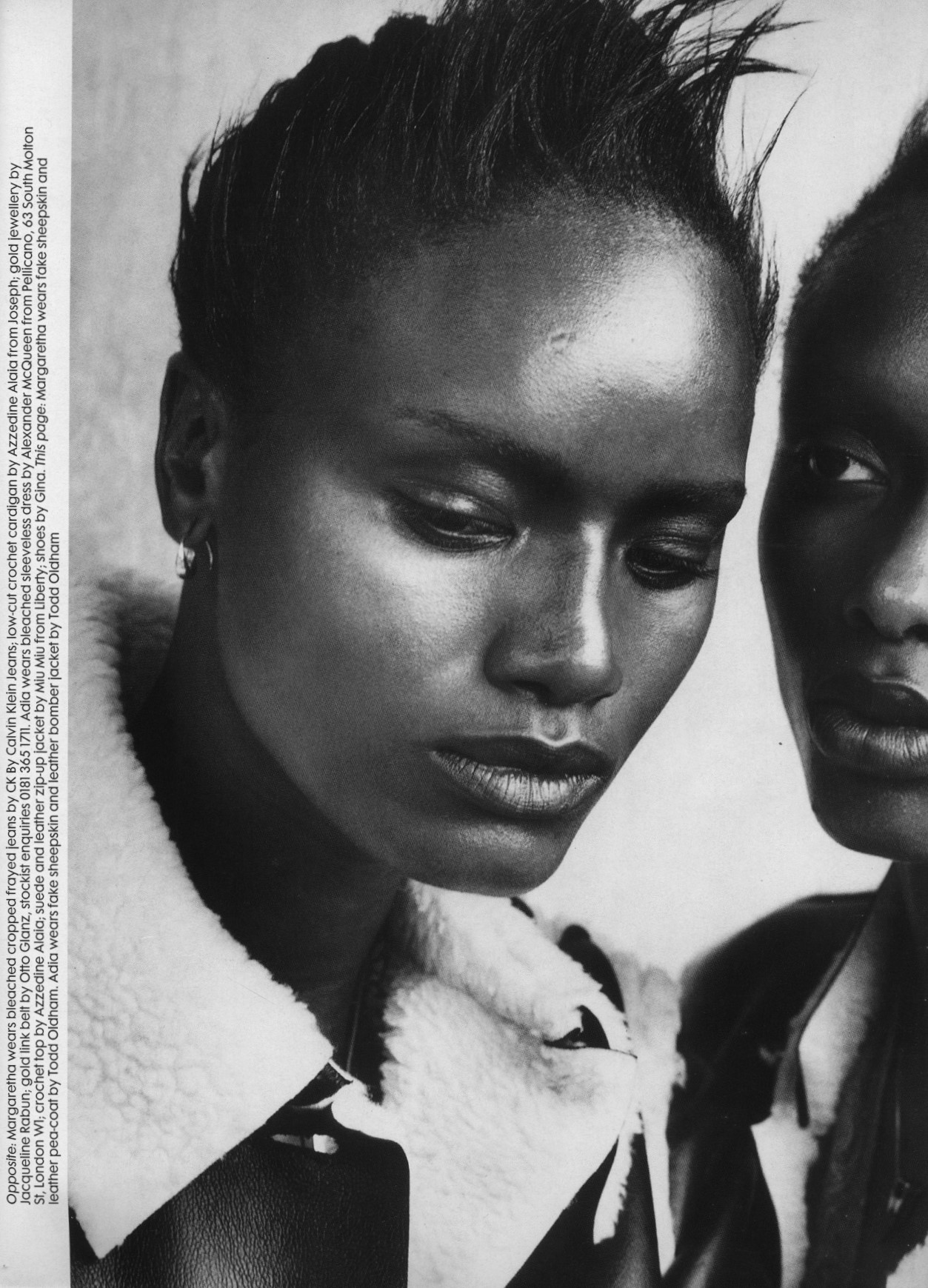 SOUTH SIDE | PHOTOGRAPHY PETER LINDBERGH | STYLING KARL TEMPLER | THE FACE NO.98 | NOVEMBER 1996