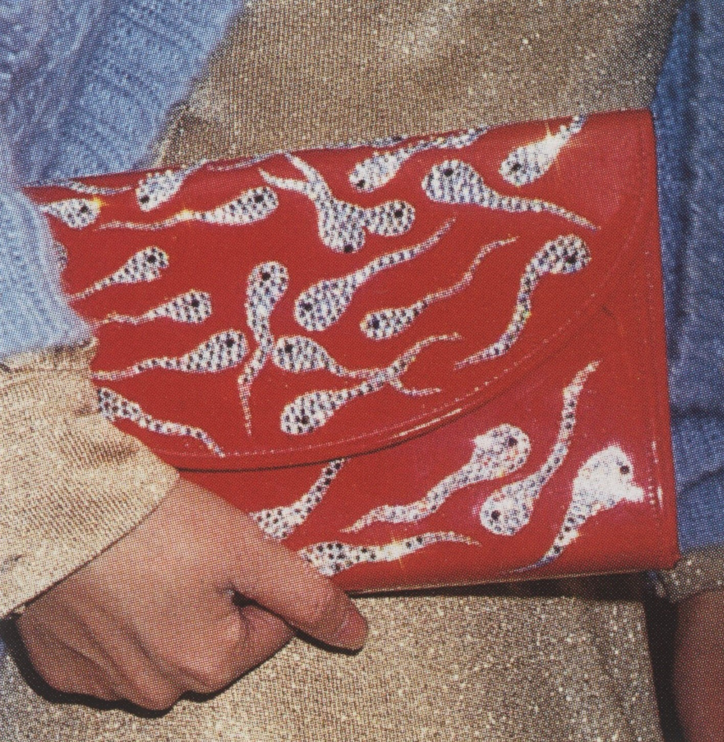 SPERM CLUTCH SEXUAL ACCESSORY ONEHUNDREDTHINGS SELF SERVICE ISSUE N°14 SPRING/SUMMER 2001