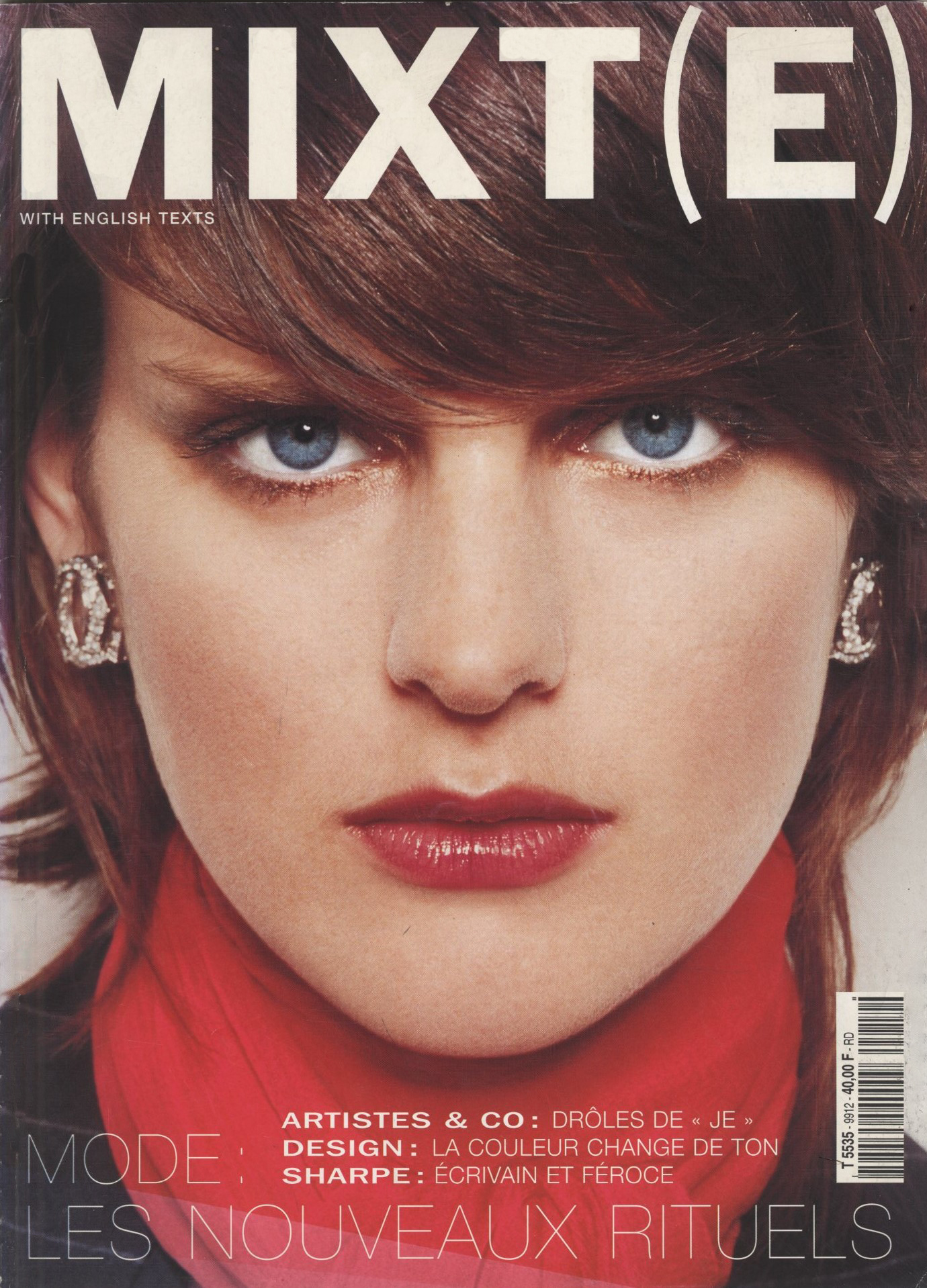 STELLA TENNANT PHOTOGRAPHY TERRY RICHARDSON STYLING EMMANUELLE ALT MIXT(E) N° 8 WINTER 2000