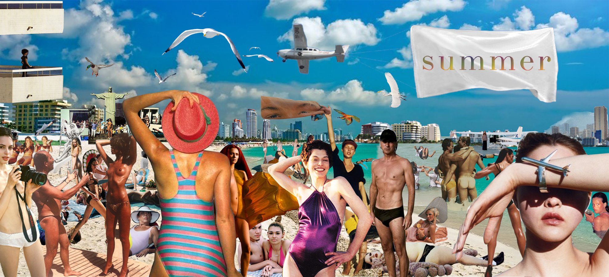 Summer Artwork for Strip Home Page 2015