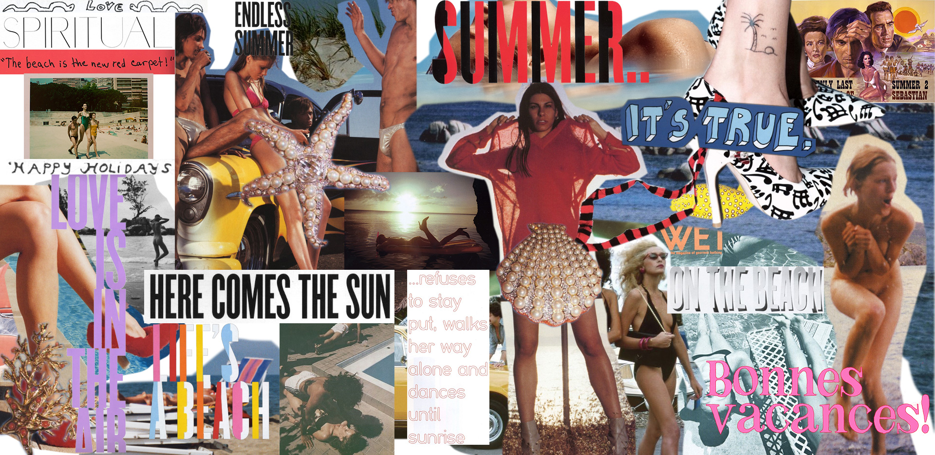 Summer Artwork for Strip Home Page 2016