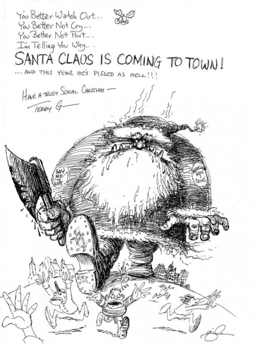 TERRY GILLIAM | CHRISTMAS CARD