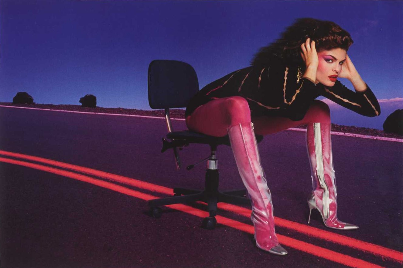 THE ELECTRONIC SUPER HIGHWAY | THE FACE | 1994 | PHOTOGRAPHY INEZ VAN LAMSWEERDE & VINOODH MATADIN