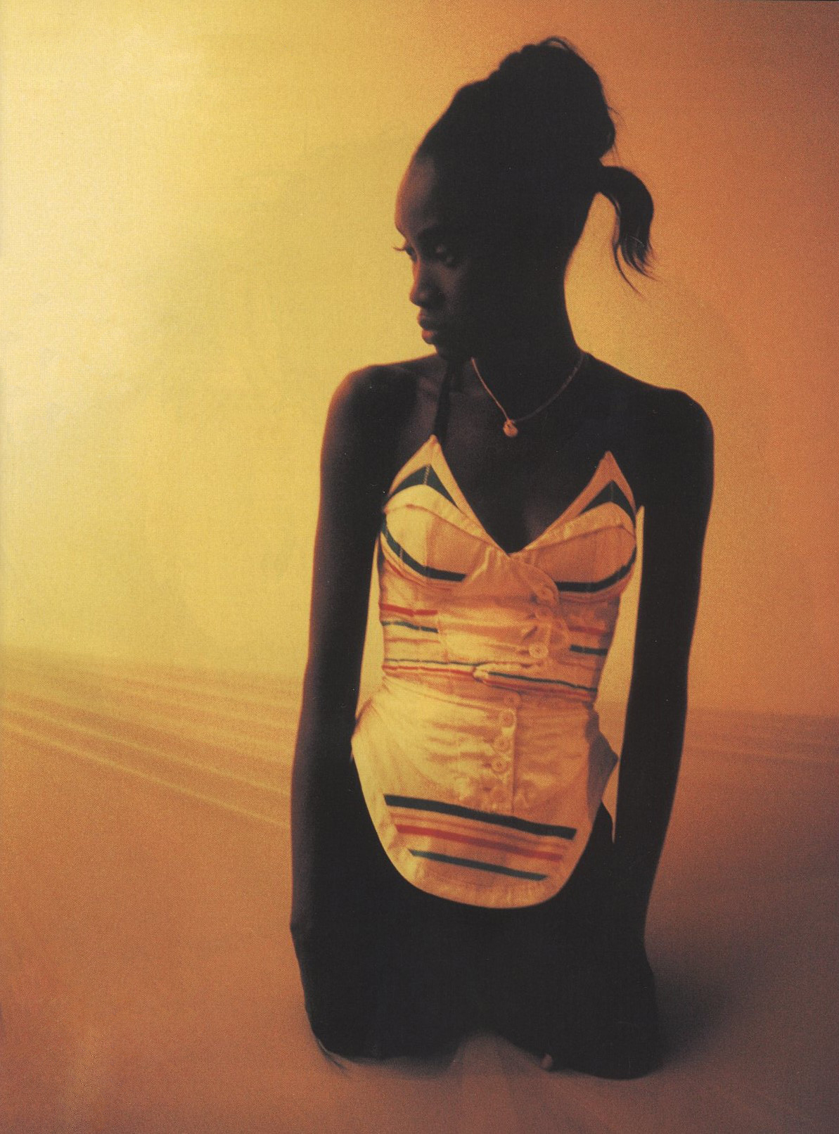 THE END OF THE BEGINNING | BALENCIAGA | SPRING/SUMMER 2003 | PHOTOGRAPHY TYLER REID | STYLING ANDRE WALKER | DAZED AND CONFUSED  #99 | MARCH 2003
