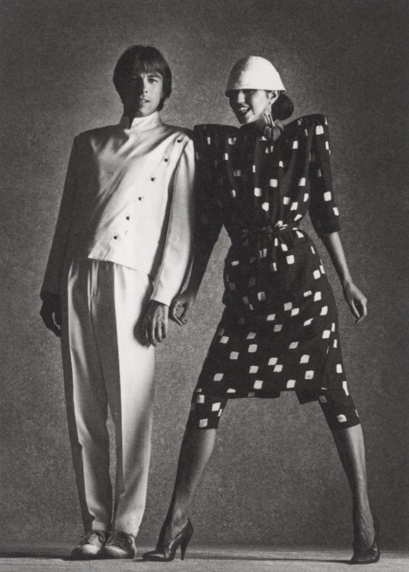 THIERRY MUGLER AND MODEL PARIS 1978 STERN PHOTOGRAPHY PETER LINDBERGH
