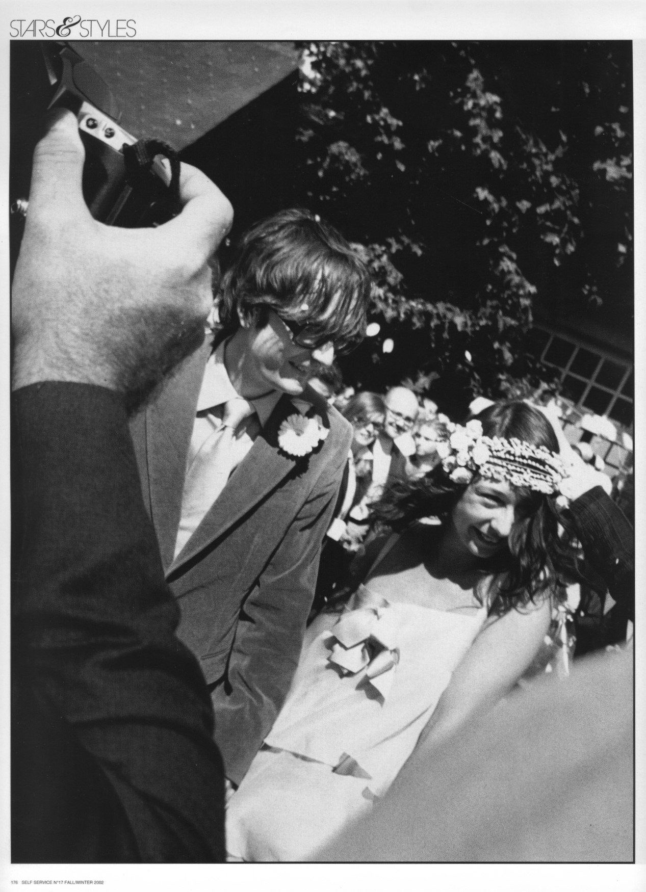 THIS IS HARDCORE | JARVIS COCKER AND CAMILLE BIDAULT-WADDINGTON'S WEDDING | PHOTOGRAPHY GAUTHIER GALLET AND SUZANNE KOLLER | SELF SERVICE N°17 | FALL/WINTER 2002