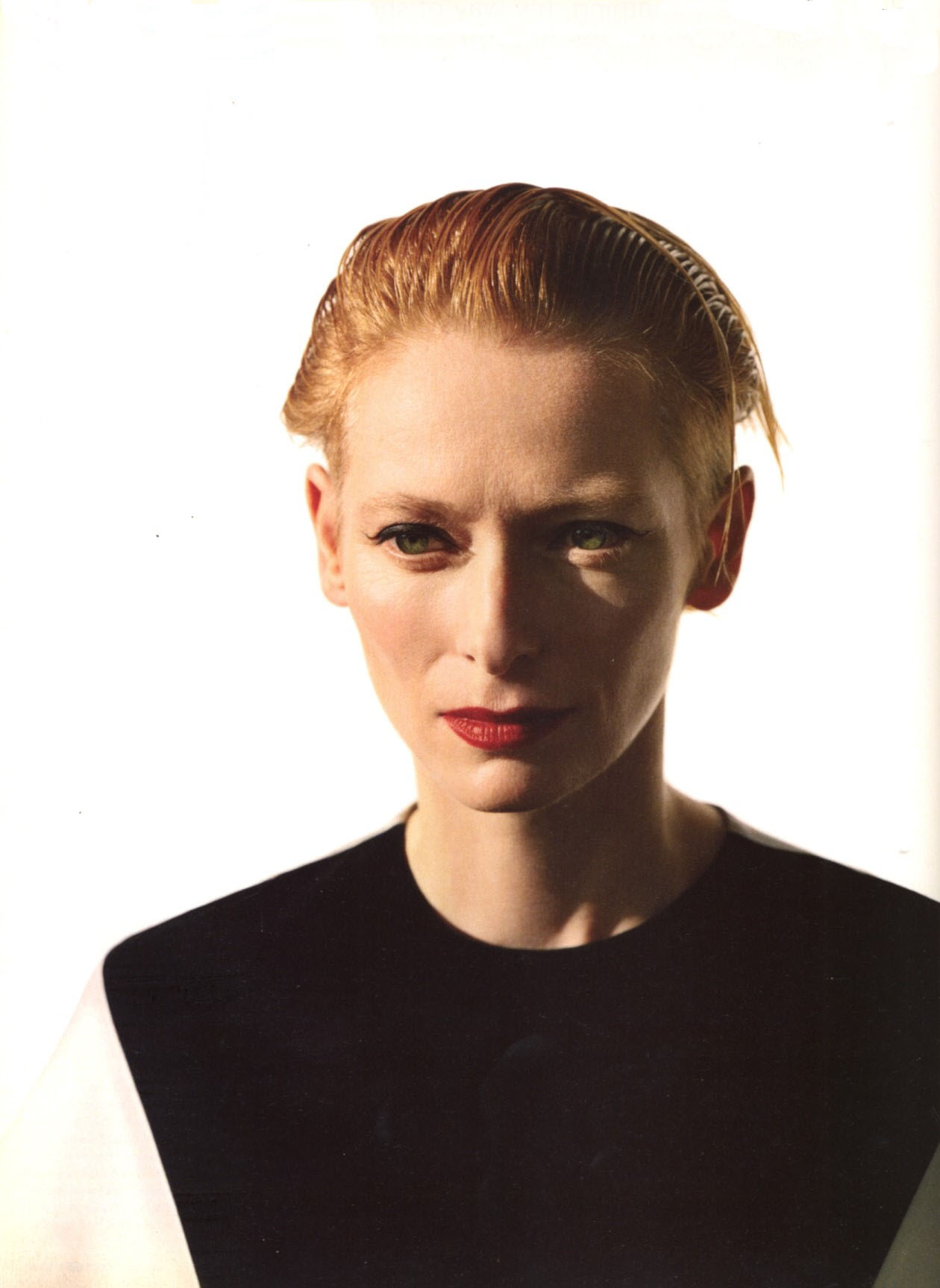 TILDA SWINTON | PHOTOGRAPHY ALASDAIR MCLELLAN | i-D MAGAZINE NO.293 | NOVEMBER 2008