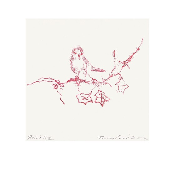 TRACEY EMIN CHRISTMAS CARD