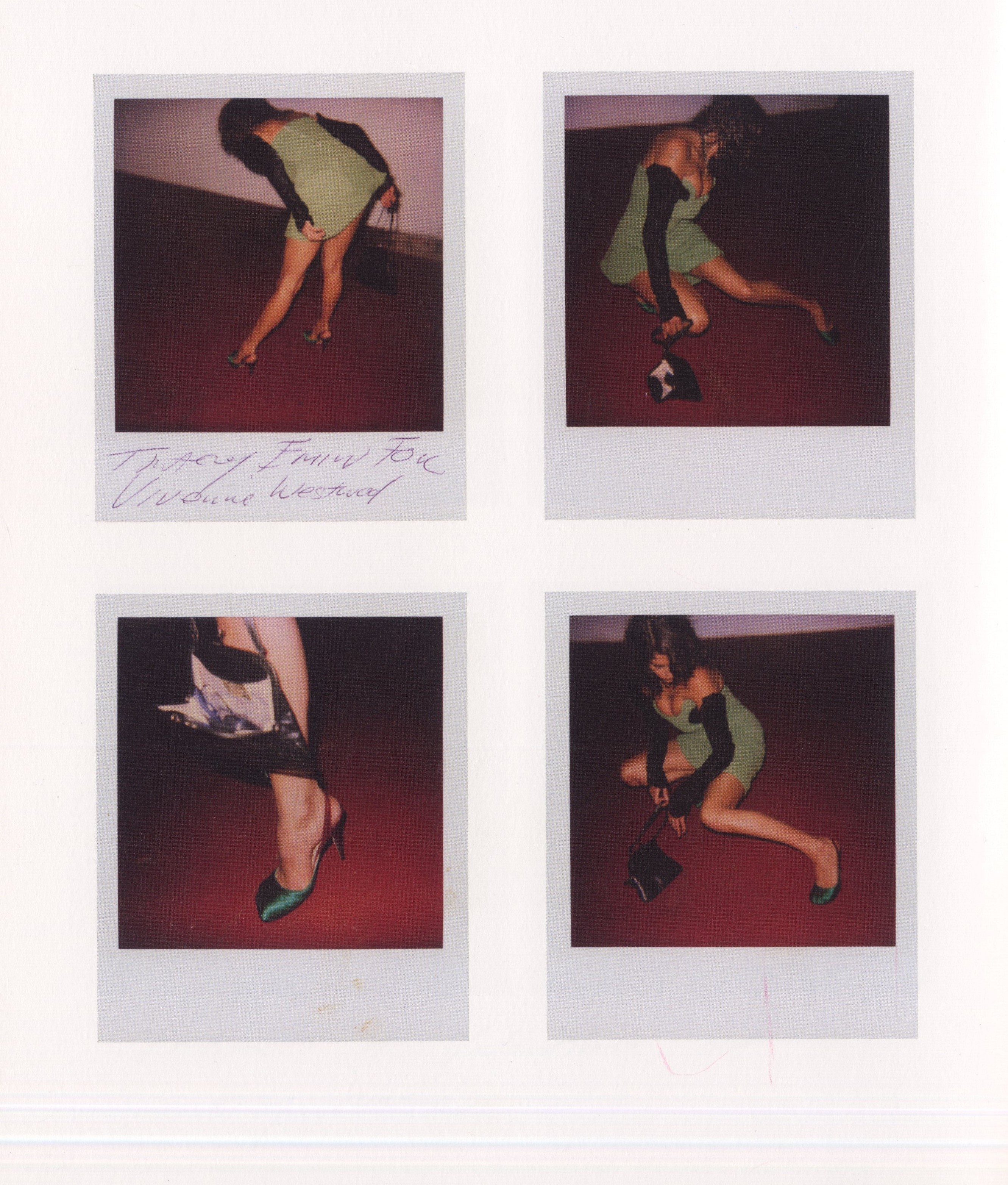 TRACEY EMIN | POLAROIDS FOR VIVIENNE WESTWOOD AD CAMPAIGN | 2003