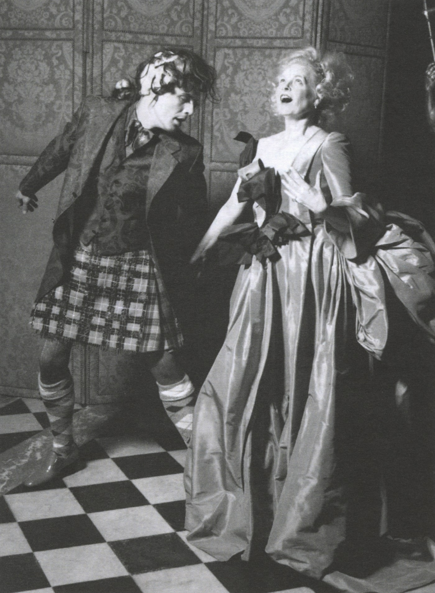 VIVIENNE WESTWOOD AND ANDREAS KRONTHALER | PHOTOGRAPHY KARL LAGERFELD | 1997