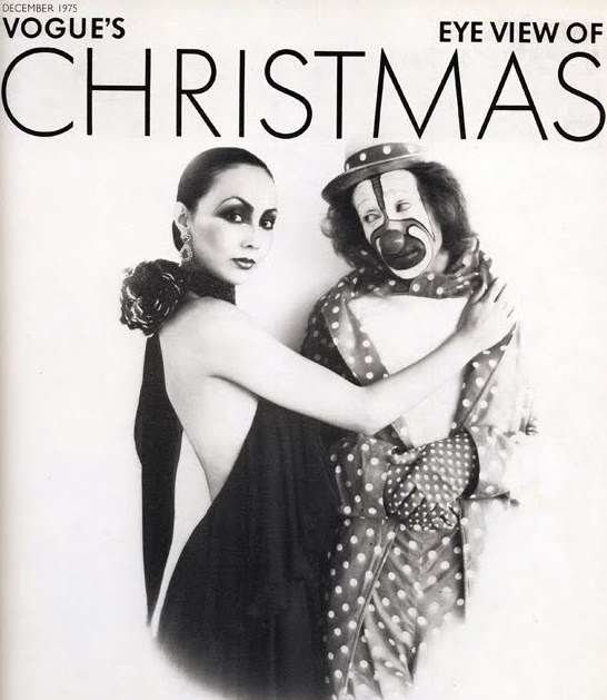 VOGUE'S EYE VIEW OF CHRISTMAS DECEMBER 1975