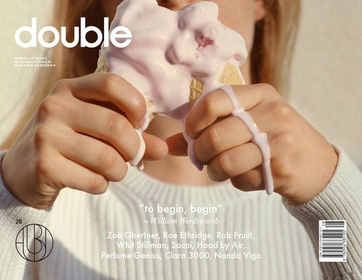 ZOE GHERTNER,DOUBLE MAGAZINE,ISSUE #28,STYLING BY MARIE CHAIX